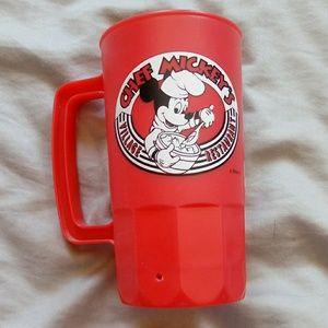 Chef Mickey's Village restaurant cup